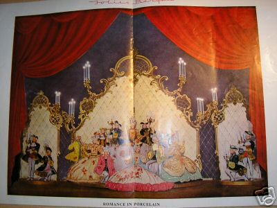 Ganjou 1955 Folies Bergere Prince of Wales theatre